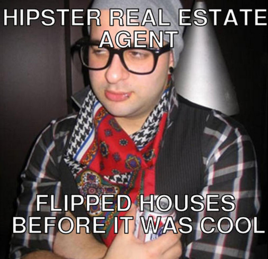 hipster agent